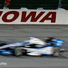 July 12: Juan Montoya at the Iowa Corn Indy 300.