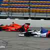 July 11: Simon Pagenaud and Mikhail Aleshin at the Iowa Corn Indy 300.