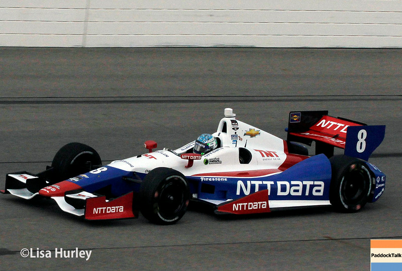 July 11: Ryan Briscoe at the Iowa Corn Indy 300.