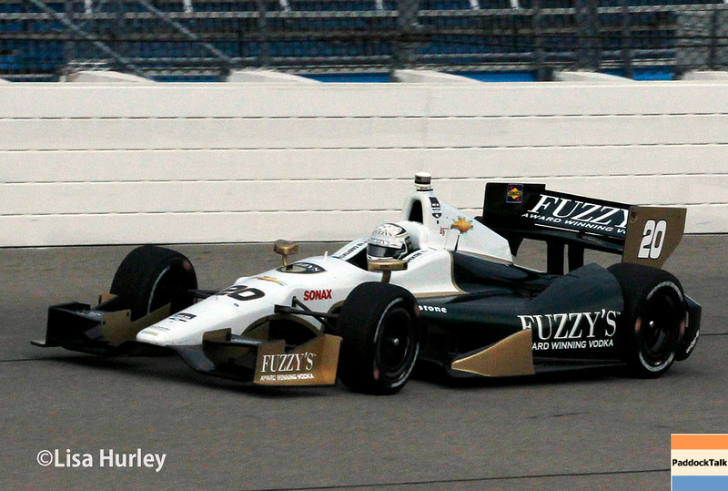 July 11: Ed Carpenter at the Iowa Corn Indy 300.