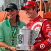 July 11: Scott Dixon, Pole winner at the Iowa Corn Indy 300.