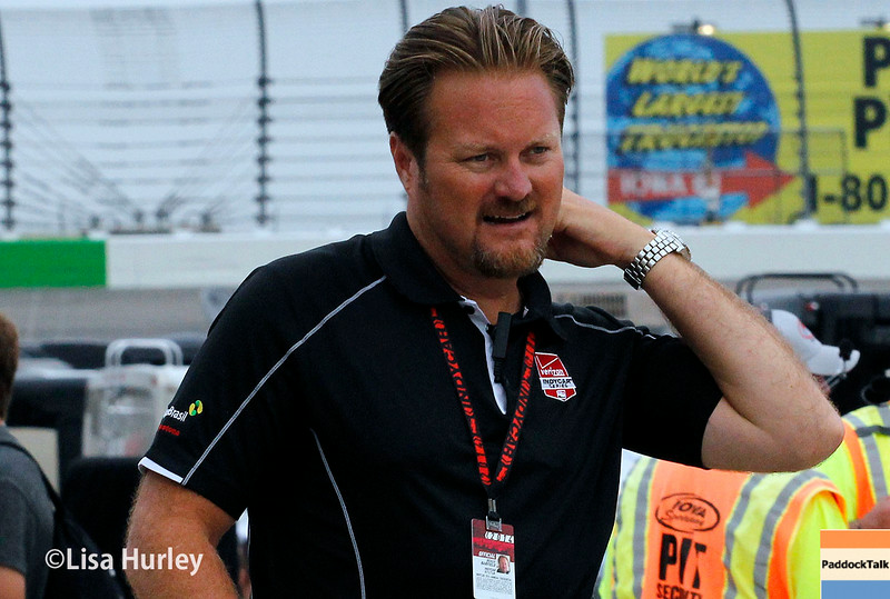 July 11: Beaux Barfield at the Iowa Corn Indy 300.