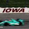 July 11: Charlie Kimball at the Iowa Corn Indy 300.