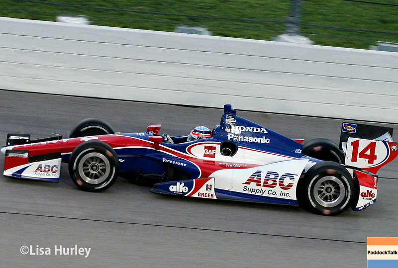 July 12: Takuma Sato at the Iowa Corn Indy 300.