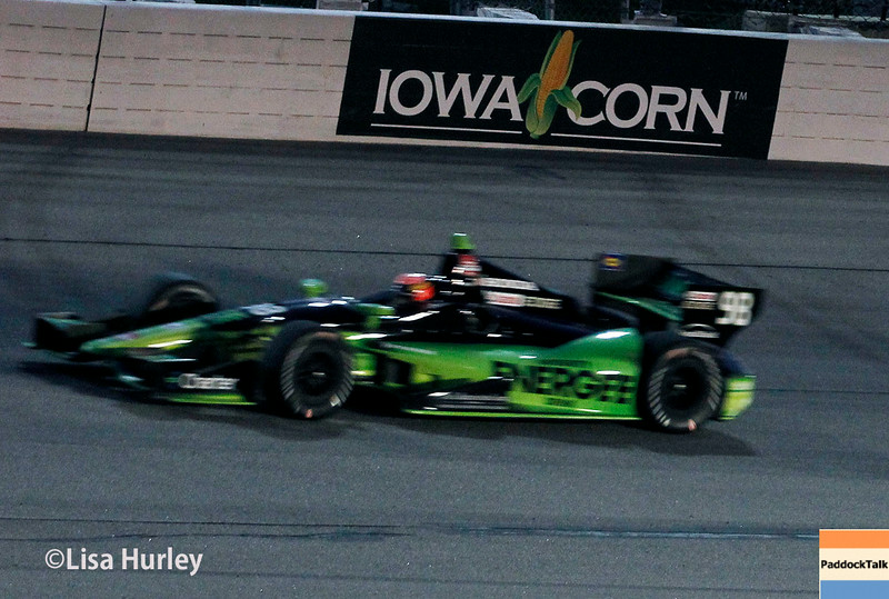 July 12: Jack Hawksworth at the Iowa Corn Indy 300.