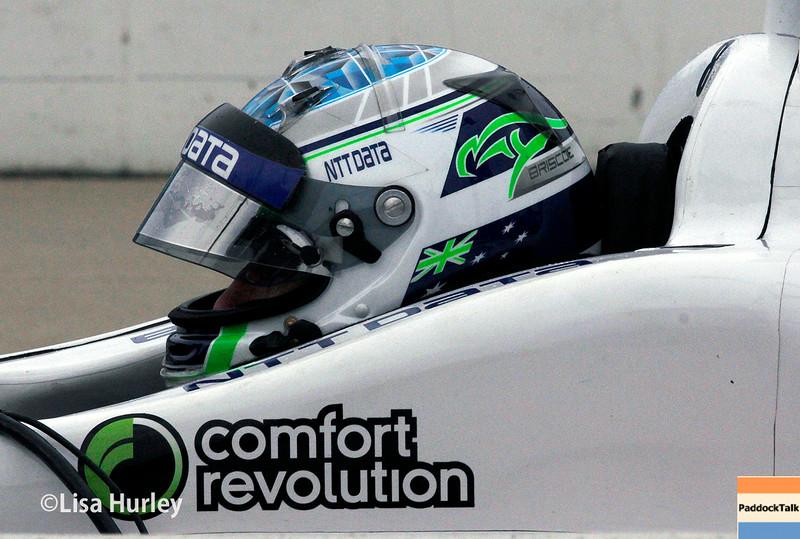 July 11: Ryan Briscoe at the Iowa Corn Indy 300.