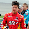 July 12: Sebastian Saavedra at the Iowa Corn Indy 300.