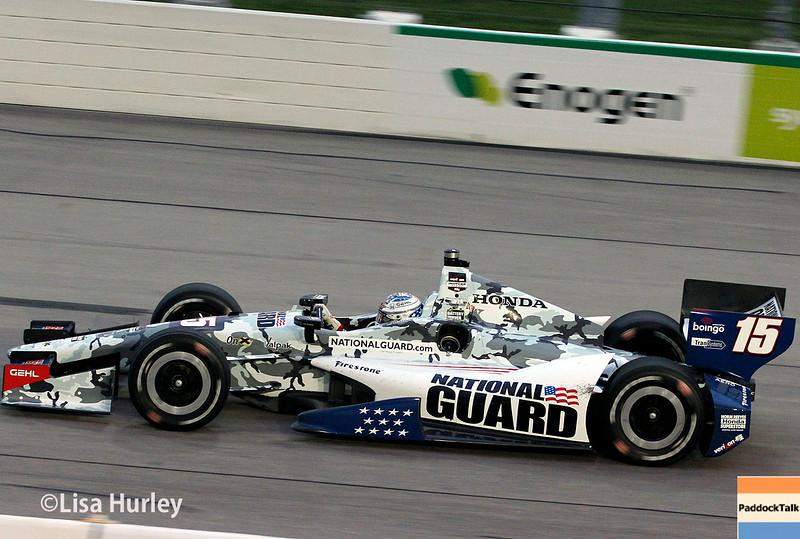 July 12: Graham Rahal at the Iowa Corn Indy 300.