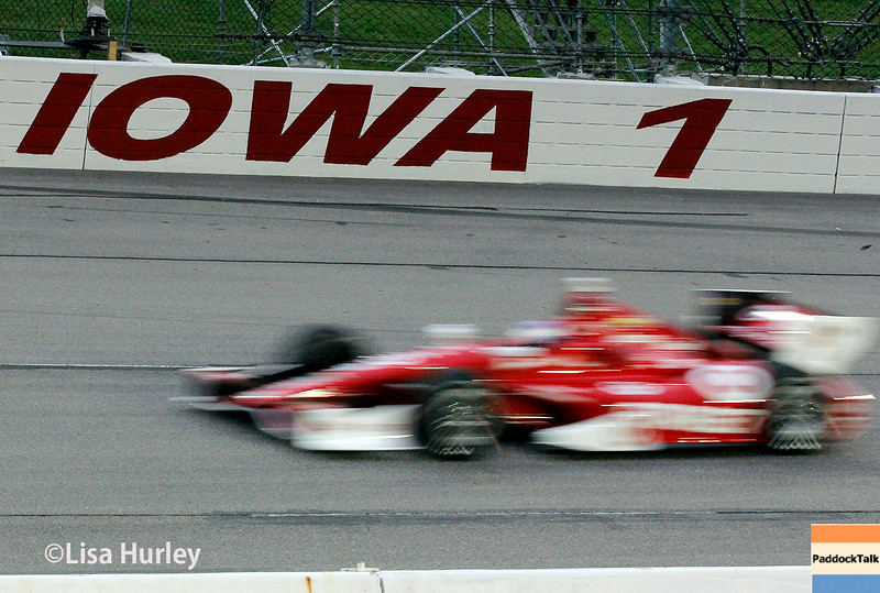 July 12: Scott Dixon at the Iowa Corn Indy 300.