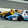 July 12: Ryan Hunter-Reay and James Hinchcliffe at the Iowa Corn Indy 300.