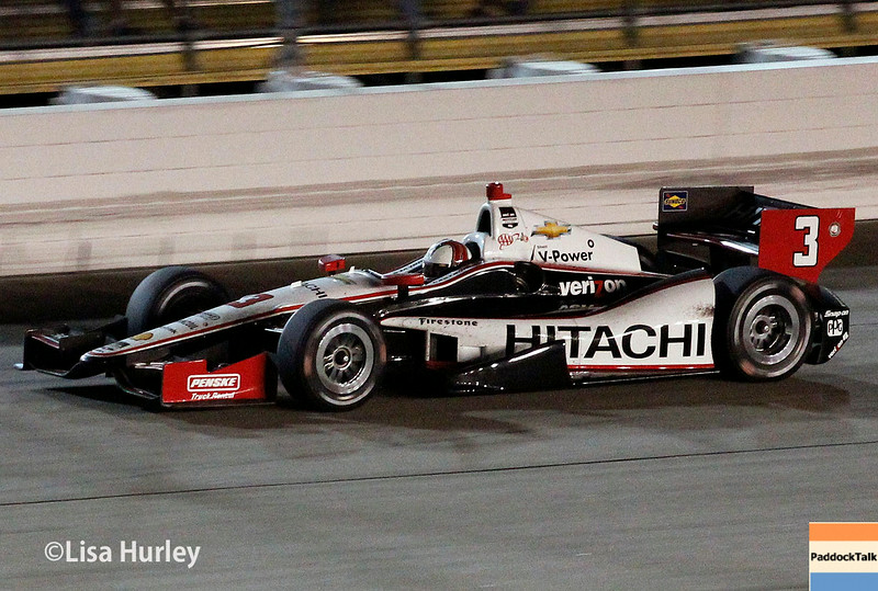 July 12: Helio Castroneves at the Iowa Corn Indy 300.