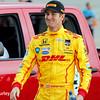 July 12: Ryan Hunter-Reay at the Iowa Corn Indy 300.