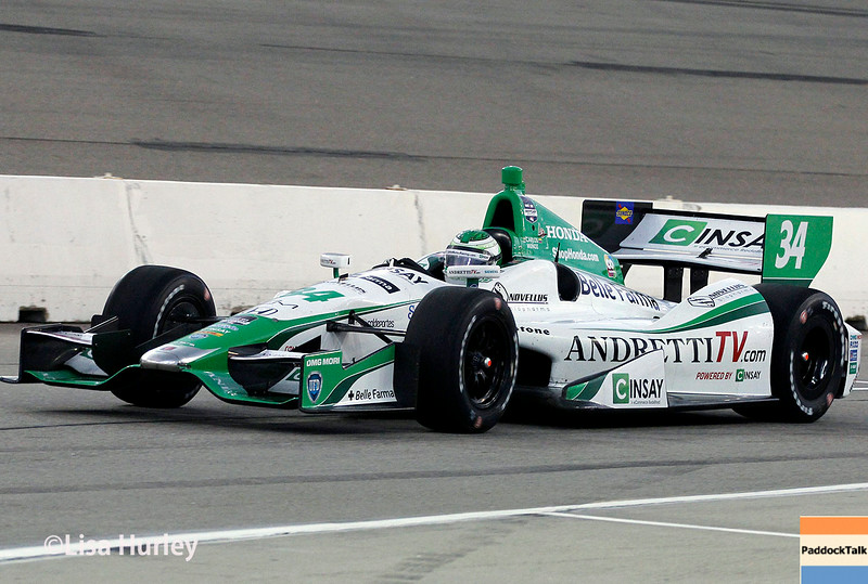 July 12: Carlos Munoz at the Iowa Corn Indy 300.