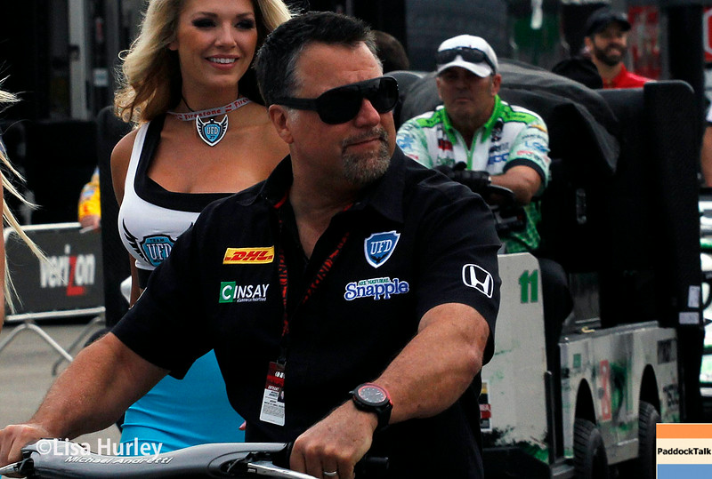 July 11: Michael Andretti at the Iowa Corn Indy 300.