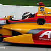 July 11: Sebastian Saavedra at the Iowa Corn Indy 300.