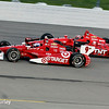 July 12: Scott Dixon and Tony Kanaan at the Iowa Corn Indy 300.