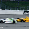 July 12: Sebastien Bourdais and Ryan Hunter-Reay at the Iowa Corn Indy 300.