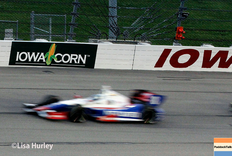 July 12: Ryan Briscoe at the Iowa Corn Indy 300.