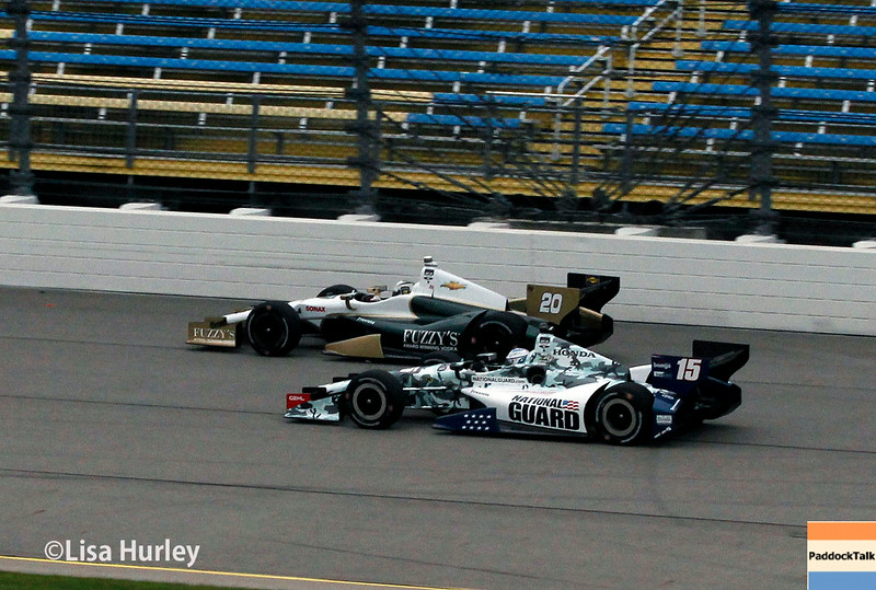 July 11: Ed Carpenter and Graham Rahal at the Iowa Corn Indy 300.
