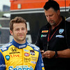 July 11: Marco and Michael Andretti at the Iowa Corn Indy 300.