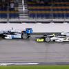 July 12: Juan Montoya and Josef Newgarden at the Iowa Corn Indy 300.