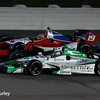July 12: Justin Wilson and Carlos Munoz at the Iowa Corn Indy 300.