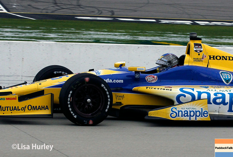 July 11: Marco Andretti at the Iowa Corn Indy 300.