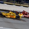 July 12: Ryan Hunter-Reay and Scott Dixon at the Iowa Corn Indy 300.