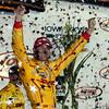 July 12: Ryan Hunter-Reay wins the Iowa Corn Indy 300.