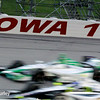 July 12: Carlos Munoz and Josef Newgarden at the Iowa Corn Indy 300.