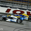 July 12: Juan Montoya and Marco Andretti at the Iowa Corn Indy 300.