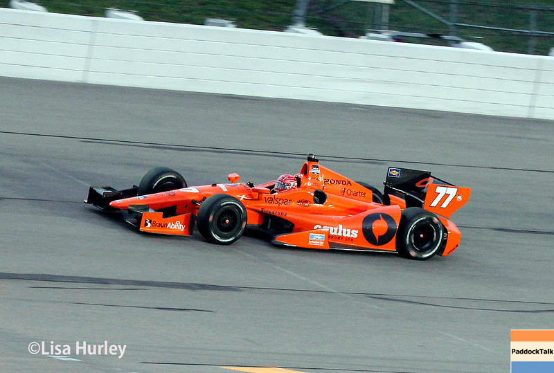 July 12: Simon Pagenaud at the Iowa Corn Indy 300.