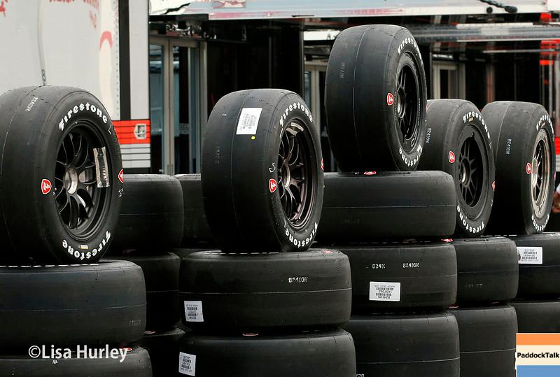 July 11: Firestone Firehawk tires at the Iowa Corn Indy 300.