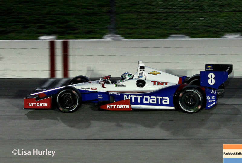 July 12: Ryan Briscoe at the Iowa Corn Indy 300.