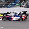 July 12: Takuma Sato and Josef Newgarden at the Iowa Corn Indy 300.