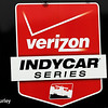 July 11: Verizon Indycar Series logo at the Iowa Corn Indy 300.