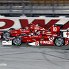 July 12: Tony Kanaan and Scott Dixon at the Iowa Corn Indy 300.
