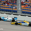 July 12: James Hinchcliffe and Marco Andretti at the Iowa Corn Indy 300.