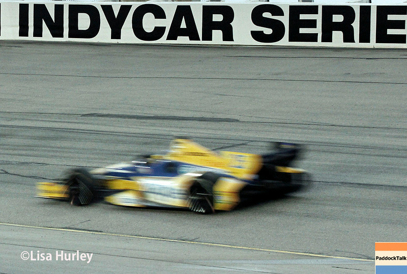 July 12: Marco Andretti at the Iowa Corn Indy 300.