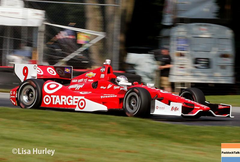 August 2: Scott Dixon at The Honda Indy 200 at Mid-Ohio.
