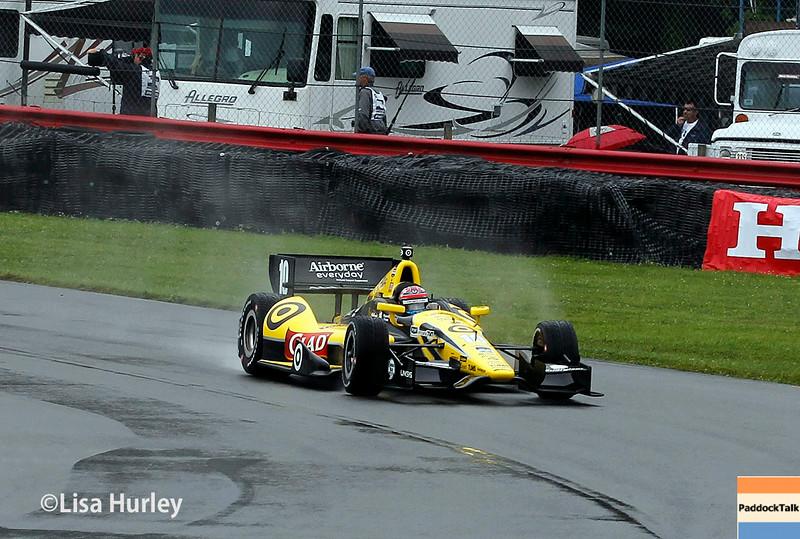 August 2: Tony Kanaan at The Honda Indy 200 at Mid-Ohio.