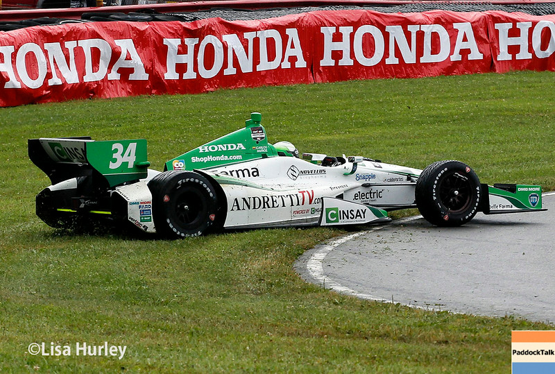 August 2: Carlos Munoz at The Honda Indy 200 at Mid-Ohio.