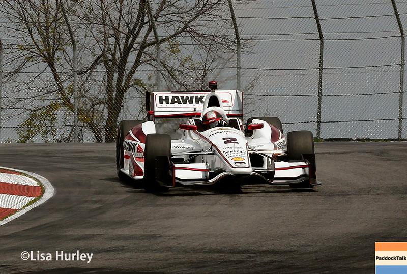 August 1: Juan Montoya at The Honda Indy 200 at Mid-Ohio.