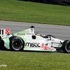 August 2: Sebastien Bourdais at The Honda Indy 200 at Mid-Ohio.
