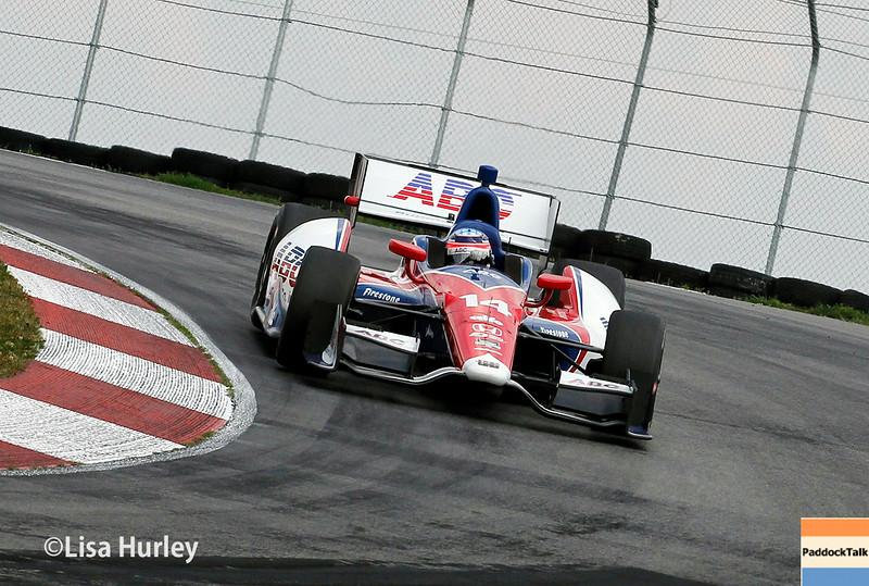 August 1: Takuma Sato at The Honda Indy 200 at Mid-Ohio.