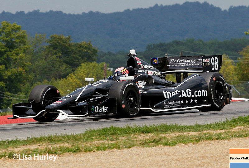August 1: Jack Hawksworth at The Honda Indy 200 at Mid-Ohio.
