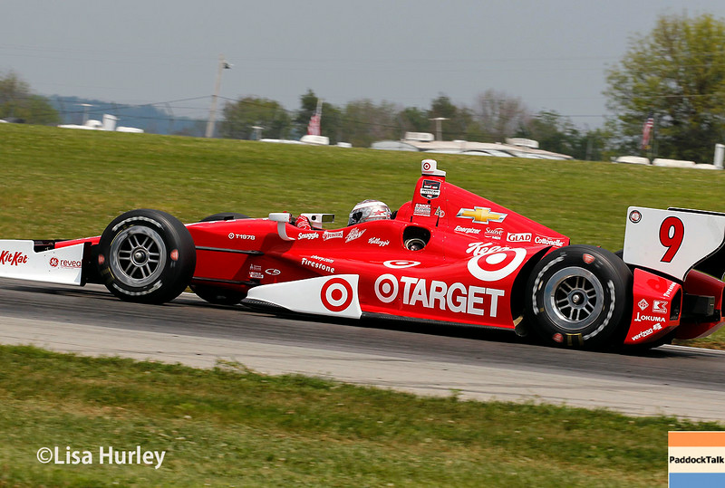 August 1: Scott Dixon at The Honda Indy 200 at Mid-Ohio.