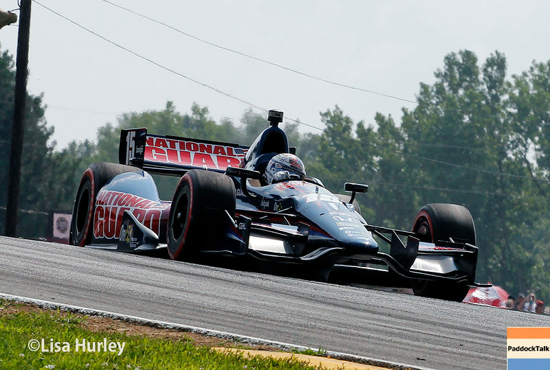 August 3: Graham Rahal at The Honda Indy 200 at Mid-Ohio.