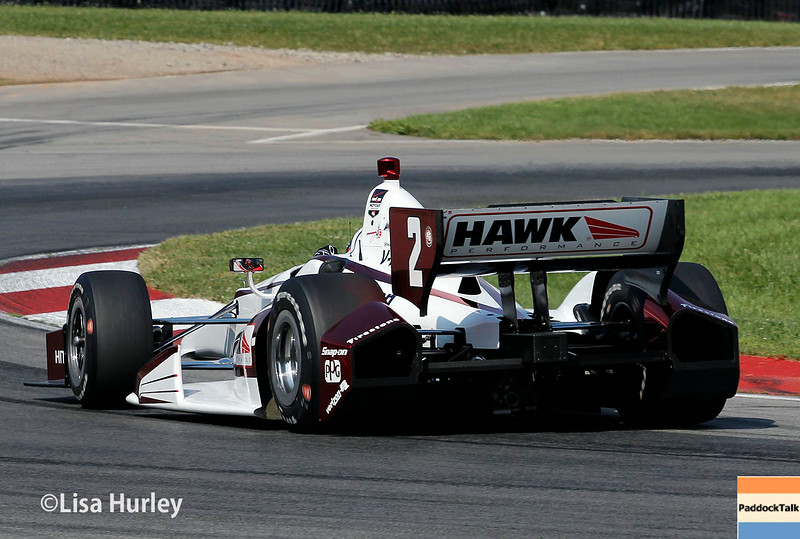 August 2: Juan Montoya at The Honda Indy 200 at Mid-Ohio.