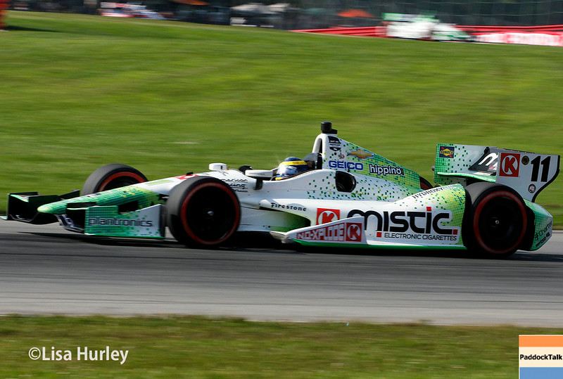 August 3: Sebastien Bourdais at The Honda Indy 200 at Mid-Ohio.